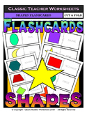 Shapes Flashcards - Cut & Fold Flashcards - Kindergarten to Grade 2 (2nd Grade)