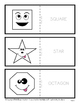 Shapes with Faces Flashcards-Colour Flashcards-Kindergarten to Gr. 2 (2nd Gr.)