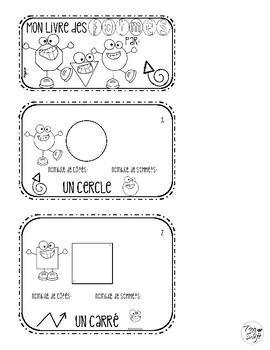 Shapes Flip Book ~ French ~ Les formes