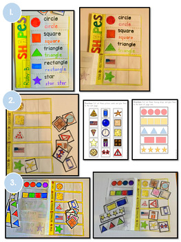 Shapes Fold and Flip Book