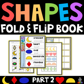 Shapes Fold and Flip Book Part 2