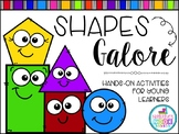 Shapes Galore (Hands-On Activities for Young Learners)