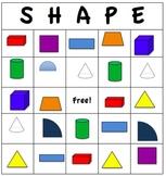 Shapes Galore! Shape Bingo