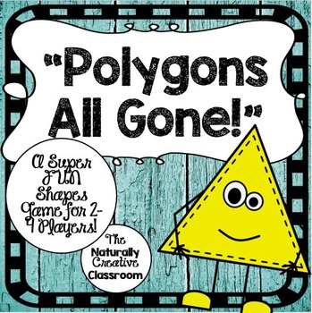 Shapes Game:  Polygons All Gone!