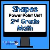 Shapes Geometry Math Unit 2nd Grade Common Core