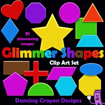 Shapes Clip Art - Glimmer Style
