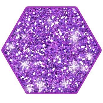 Glitter Shapes Clip Art