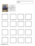 Shapes Go to School Activity Worksheet Squares