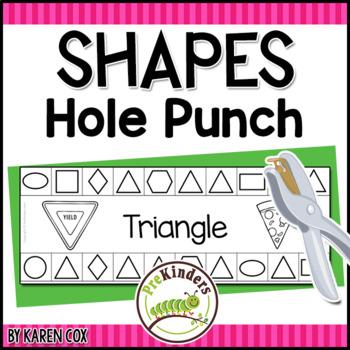 Shapes Hole Punch Cards