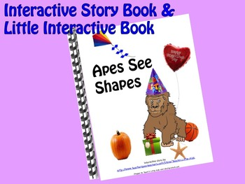 Shapes INTERACTIVE STORY BOOK & Little Interactive Book
