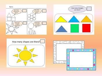 Back to School Activities Shapes