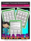 Shapes - Identifying Polygons - Grades 4-5 (4th-5th Grade)
