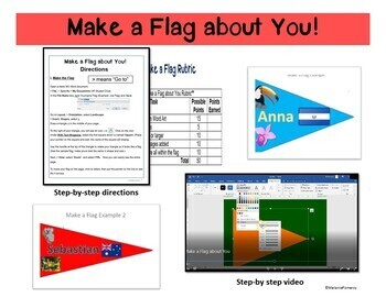 Shapes, Images and Page Orientation in Word 2016  Make a Flag about You!