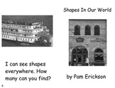 Shapes In Our World- a math guided reading book