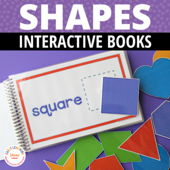 Shapes Interactive Book | Shape Matching Activity for Preschool