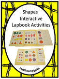 Shapes Interactive Worksheets, Shape Sorting, Kindergarten Worksheets