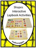 Shapes Interactive Lapbook-PK, K, Special Education, Autism
