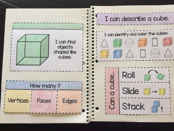 Shapes Interactive Notebook - 2D and 3D