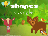 Shapes Jungle {Math Clipart}