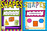 Shapes Kindergarten Bundled