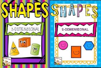 Shapes Kindergarten Bundled