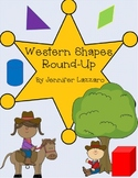 Shapes Kindergarten Western Theme