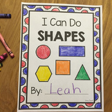 Shapes - Kindergarten and Pre-K