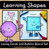 Shapes Lacing Card Activity and Bulletin Board Set
