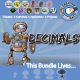 Decimals -- Activities & Projects -- Essential Unit Bundle