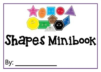 Shapes MInibook/Workbook