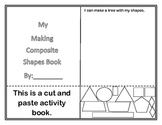 Shapes Making Composite Shapes Book...NO SNOW GLOBE (A Common Core Standard)