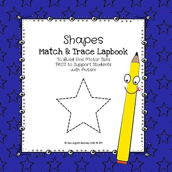 Occupational Therapy: Shapes Match & Trace Lapbook