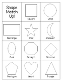 Shape Match Up & Tracing
