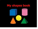 Shapes Matching Book- High Contrast