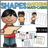 Shapes Matching Mats and Activity Cards (Patterns, Colors,