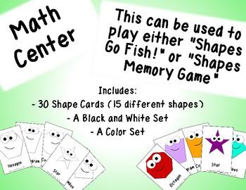 Shapes Math Center