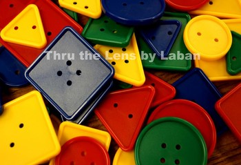 2D Shapes Math Manipulatives Stock Photo #116
