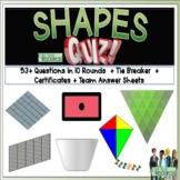 Shapes Math Quiz