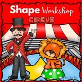 Pre-school-Kindergarten- Special Education-Math- Shape Workshop