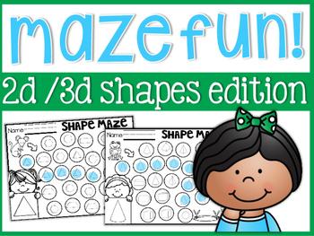 Shapes Mazes