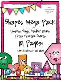 Shapes Mega Pack 2D Shape Recognition and Practice.