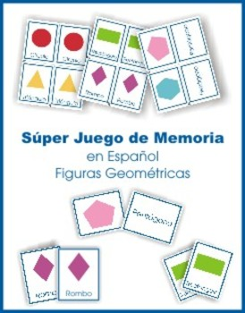 Shapes Memory game en Español