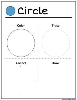 Shapes Mini Packet - Visual Motor and Shape Identification