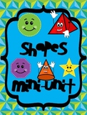 Shapes Mini-Unit: 2D and 3D shapes