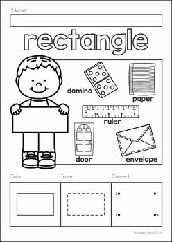 shapes no prep worksheets by lavinia pop teachers pay teachers. Black Bedroom Furniture Sets. Home Design Ideas