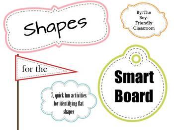 Shapes Notebook Presentation for SmartBoard