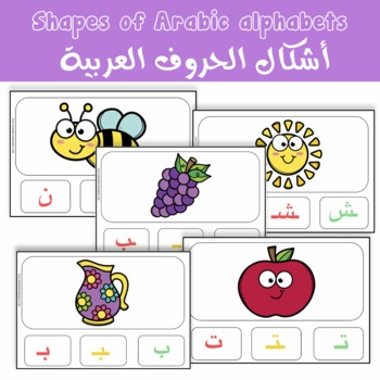 Shapes Of Arabic Alphabets