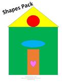 Shapes Pack Preschool-Kindergarten NO PREP