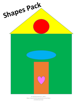 Shapes Pack Preschool-Kindergarten NO PREP
