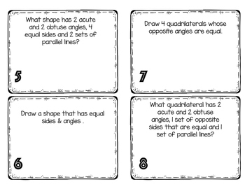 Shapes Packet